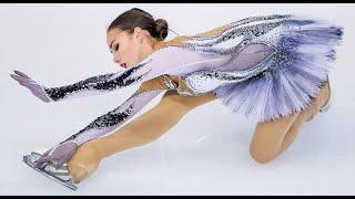 ALINA ZAGITOVA SP European Championship 2018 ЧЕ с комментариями американцев Olympic Channel