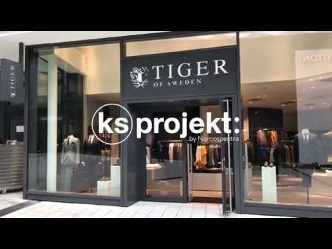 KS Projekt delivers to Tiger of Sweden Stuttgart Germany