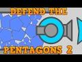 DIEP.IO DEFEND THE PENTAGONS 2!! // MASSIVE Diep.io Trolling Fail