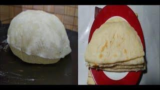 ১ মিনিটে রুটি বেলার ঝামেলা ছাড়াই তৈরি করুন আটার নরম রুটি/ Ruti beler jhamela charai  Ruti Video