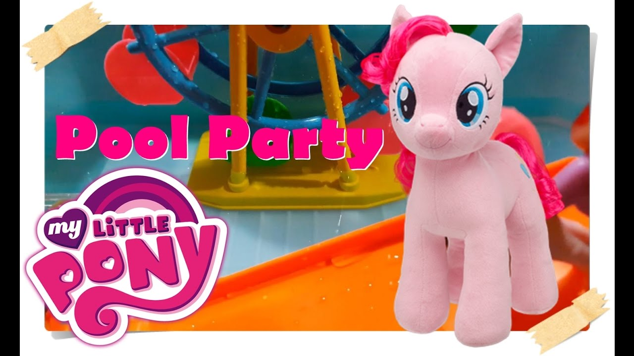 Pinkie Pie Mandi Berenang My Little Pony Pool Party Kids