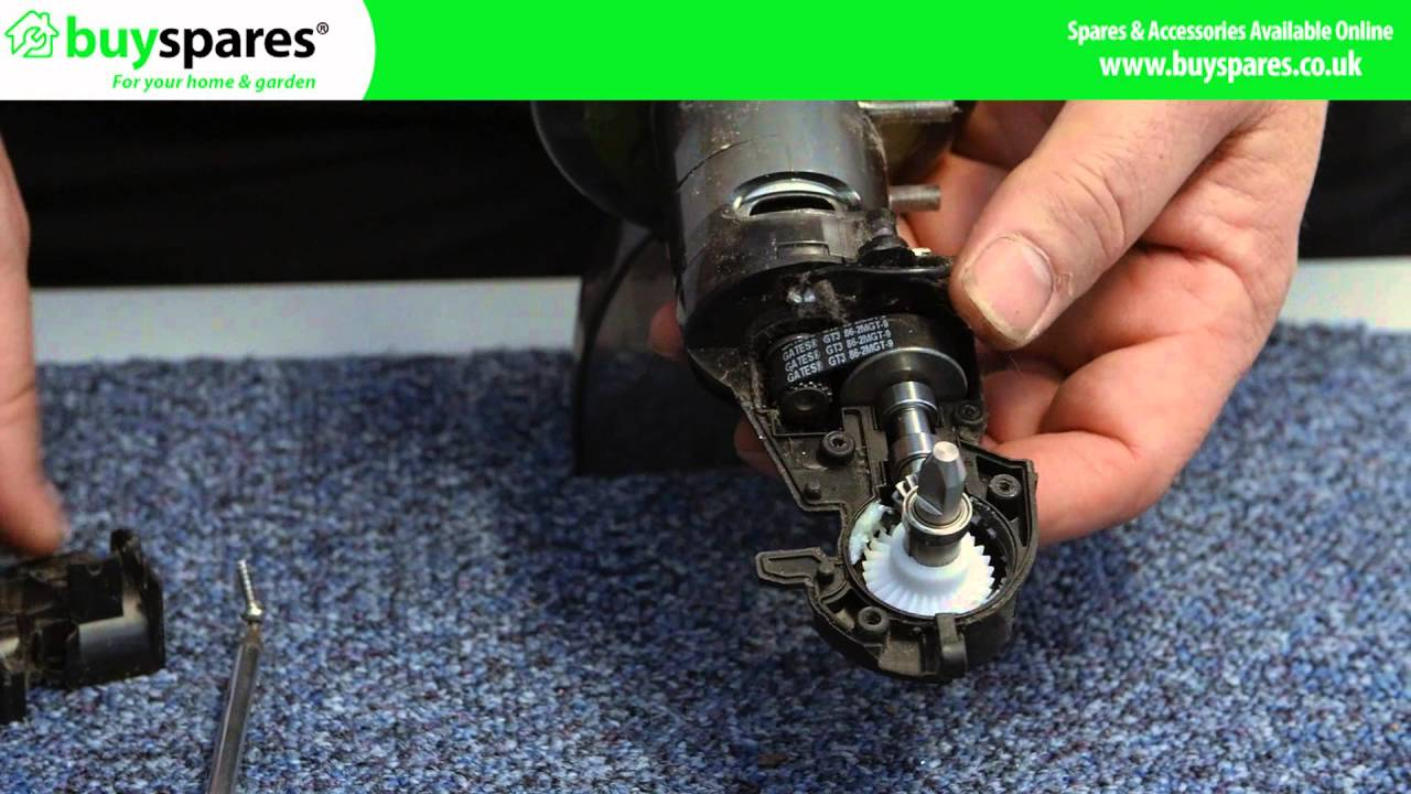 How To Replace A Gtech Airram Motor Drive Shaft Youtube