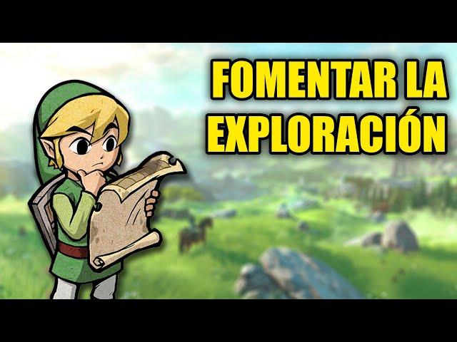 Cómo fomentar la exploración en videojuegos