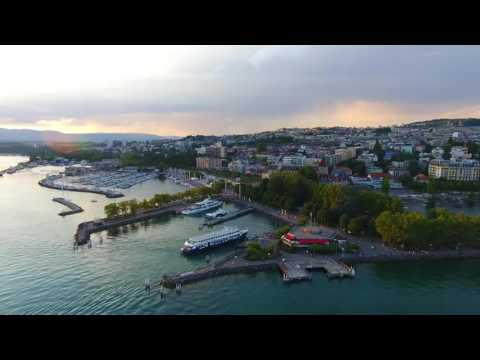LEO DRONE - LAUSANNE OUCHY - 4K