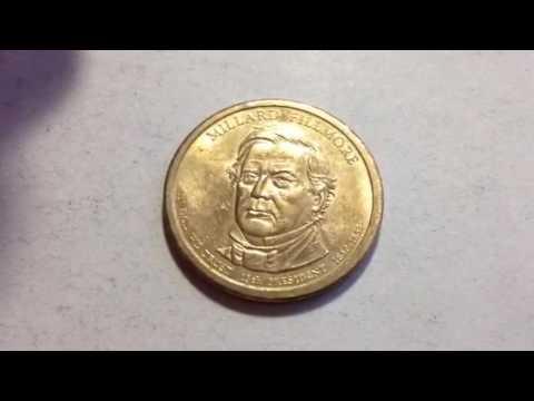 Dollar Coin: Millard Fillmore