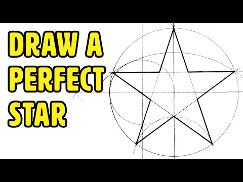 How to Draw A Perfect Star - Easy Step by Step Guide