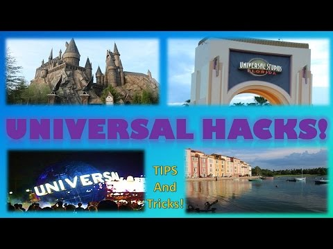 Universal HACKS!   Tips and Tricks for Going to Universal Orlando Theme Park