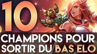 10 CHAMPIONS POUR SORTIR DU BRONZE/SILVER/GOLD