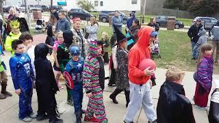 BELLEVUE, PA ELEMENTARY SCHOOL 2017 HALLOWEEN PARADE PART 2