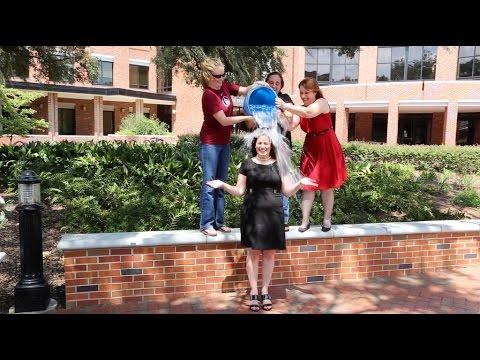 ALS Ice Bucket Challenge Dr. Amy Guerette