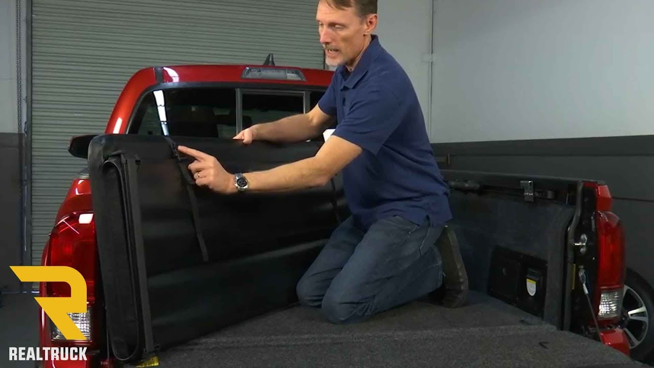 How To Install Gator Tri Fold Tonneau Cover On A 2016 Toyota Tacoma Youtube