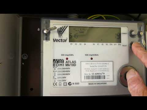 How To Read An Atlas EDMI Mk10D Smart Electricity Meter