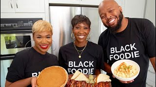 HOW TO MAKE  BAKED BEANS &amp SEAFOOD POTATO SALAD W KEVONSTAGE!!!