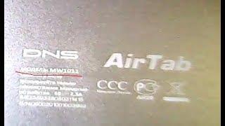 DNS AirTab MW1011 разборка