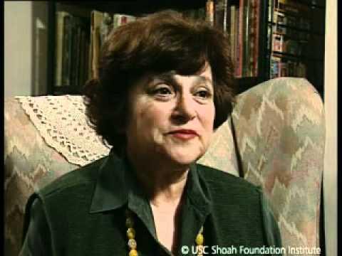 Jewish Survivor Eva Freedman Testimony
