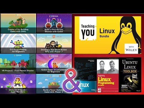 Excellent GameDev Courses (Including Godot!) & Linux Books Bundles At Fanatical