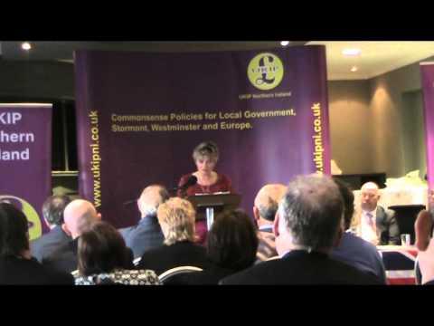 Leave.EU (Caroline Stephens) - UKIP Northern Ireland Conference 2015