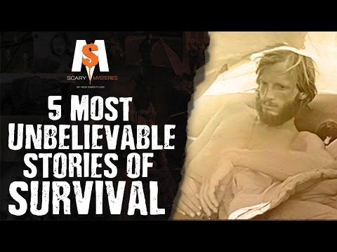 5 Most UNBELIEVABLE Stories OF SURVIVAL