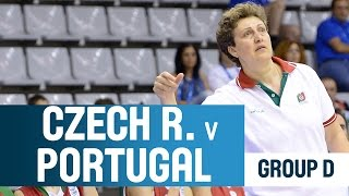 Czech Republic v Portugal -- Group D -- 2014 U18 European Championship Women