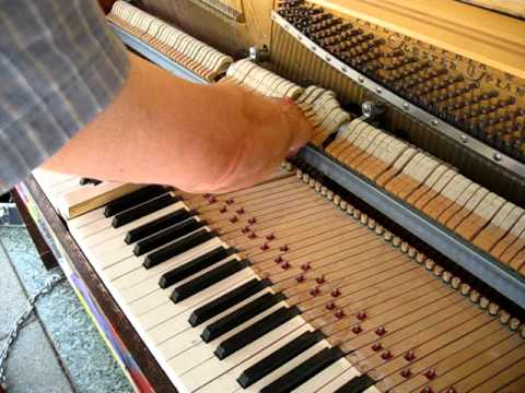 Graphic Experience Piano Gets Repaired!
