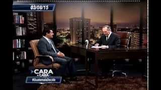 """Cara a Cara, Eduardo Valdizan en entrevista con """"Tono"""" Coro"""