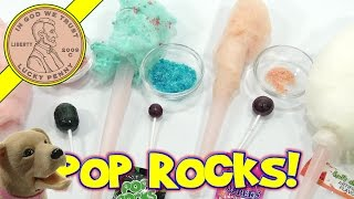 Pop Rocks Cotton Candy! Dum Dums, Blow Pops, Tootsie Pops & Apple Lollipops