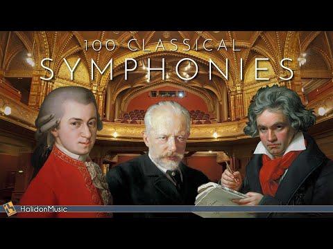 100 Symphonies - Classical Music (Vol. 1)