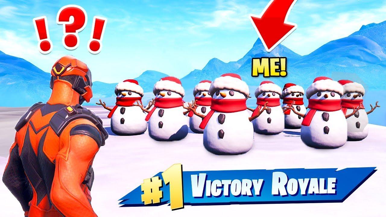 Wir haben eine SNOWMAN ARMY gemacht und gewonnen! (EPOS) + video