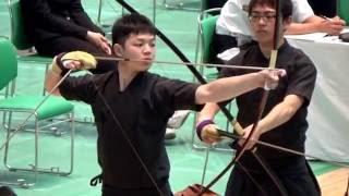第46回全関東学生弓道選手権大会 男子団体 日大 24射皆中