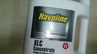 Антифриз Texaco HAVOLINE XLC B2 (OF02). Обзор.