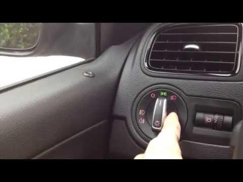 Переключатель света оригинал VAG на а/м Polo Sedan