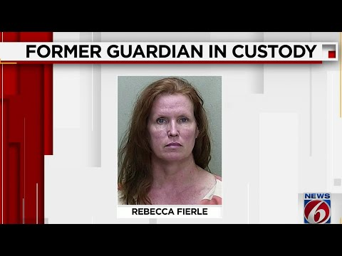 Former Florida Guardian Rebecca Fierle Booked Into Marion County Jail