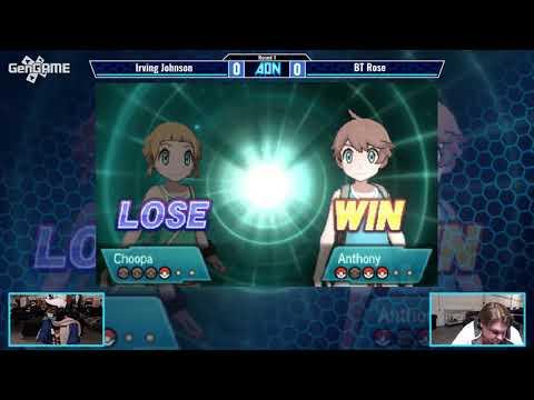 AON Pokemon VGC 2017 Irving Johnson vs BT Rose Swiss Round 1