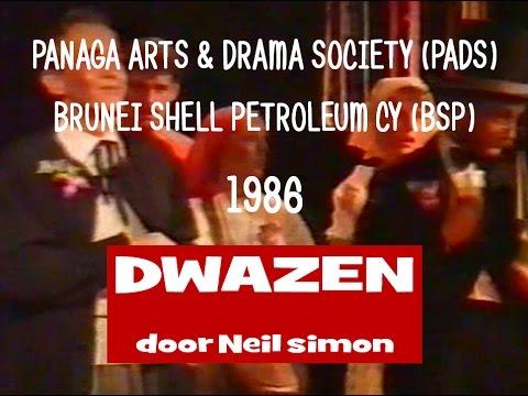 PADS BRUNEI SHELL -  DWAZEN 1986