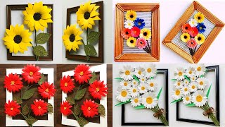 Diy Best 4 Home Decor Ideas | Easy & Beautiful Wall Decors | Inexpensive Decors | #54 |