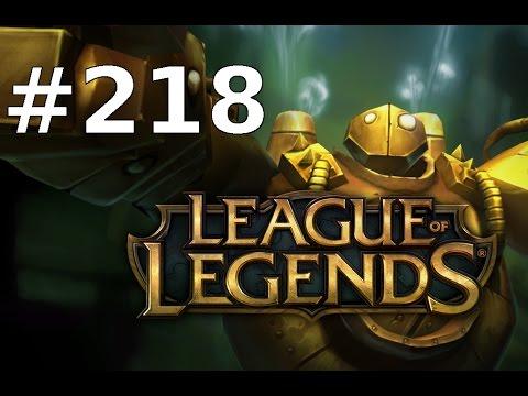 League of Legends Let's Play LoL Deutsch Part 218 - URF Blitzcrank (Ultra Rapid Fire)