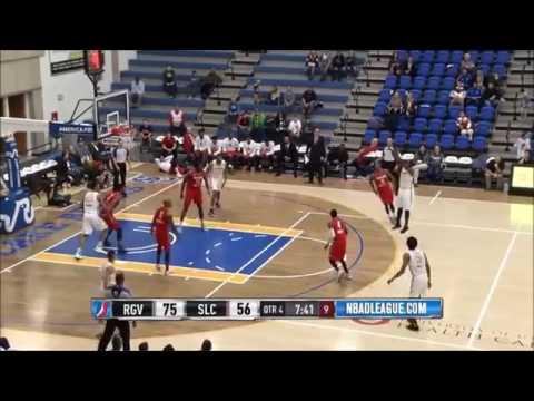 Jaylen Bland- NBA G-League 16/17 Highlights (SLC Stars)