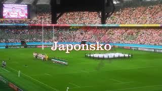 JAPONSKO   atmosféra úžasného zápasu  v rugby