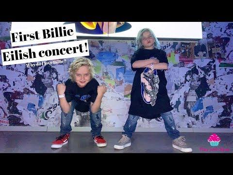 My First Time Seeing Billie Eilish! (m&g)