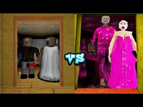 Download Roblox Granny Chapter 2  Vs Barbie Granny chapter 2