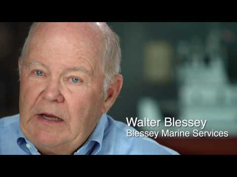 I Am Louisiana Oil and Gas - Walter Blessey, Blessey Marine Services