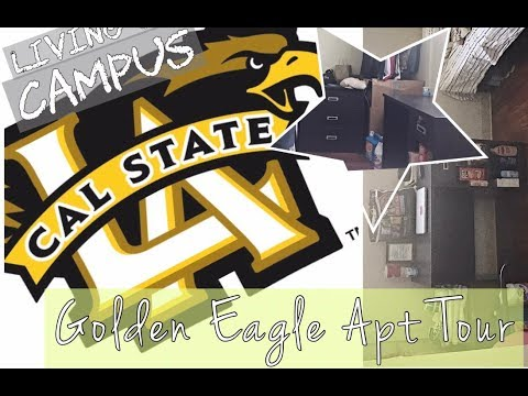 CAL STATE LA Golden Eagle Apartment Moved In/PeekThrough