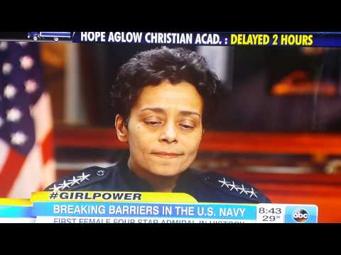 Carlton Hall Video Blog - Admiral Michelle Howard