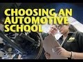 Choosing an Automotive School -ETCG1