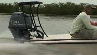 Yamaha F70 - Redfish 2016   Chevy Florida Insider Fishing Report - Season 12, Episode 1
