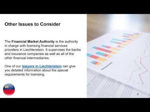 Open a Financial Company in Liechtenstein