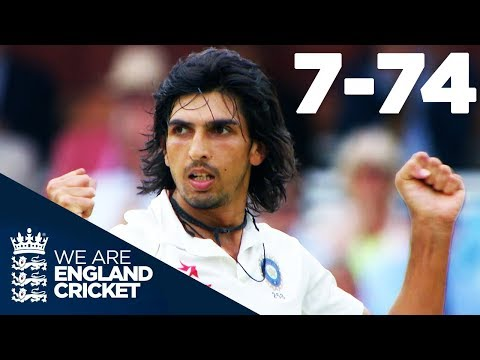Ishant Sharma Takes Best EVER Figures of 7-74 at Lord's | England v India 2014 - Highlights