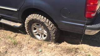 Toyo open country tires Ford Expedition