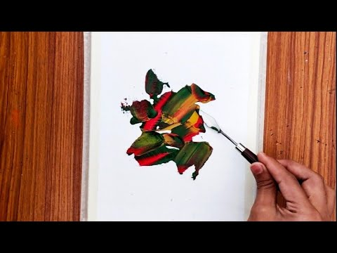 Abstract Painting / Acrylics / Canvas / Relaxing / For Beginners / Acrylic Painting / Painting / Art