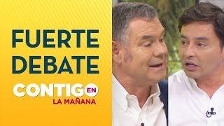 CARA A CARA: Senador Ossandón enfrentó a Rodolfo Carter - Contigo en La Mañana